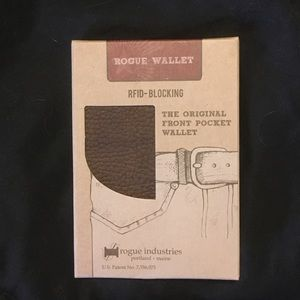 Rogue Wallet Front Pocket Brown